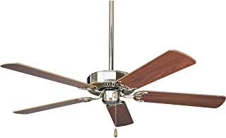 Progress Lighting P2501-09 52-Inch Fan with 5 Blades and...
