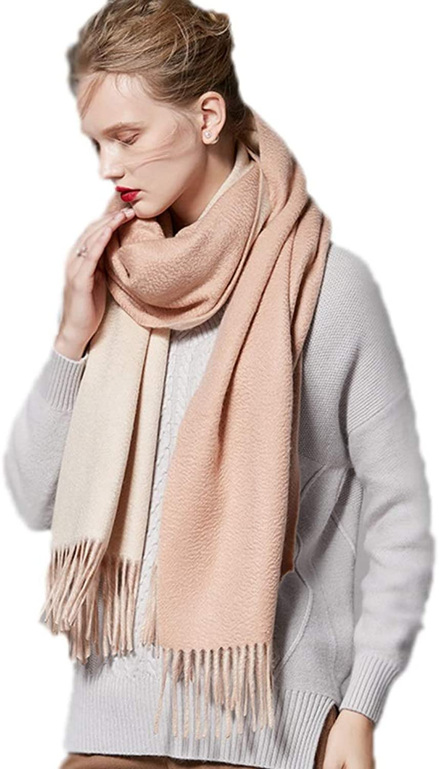 Cold Weather Scarves Scarf Ladies Scarf Ladies Shawl Spring and Winter Cashmere Scarf Double Sided Thicken Scarf Ladies Wrap Shawl Fashion Wild Scarf New Year Gift Wraps