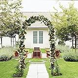 ART TO REAL Arco para el jardín de Flores para el Aire...