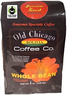 Fair Trade Certified Bolivian Sunrise Roasted Coffee Beans - Old Chicago