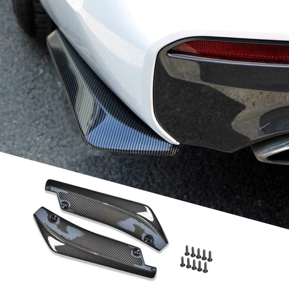 Car Bumper Spoiler 5 popular Carbon Fiber cheap Rear Diff Anti-crash Lip