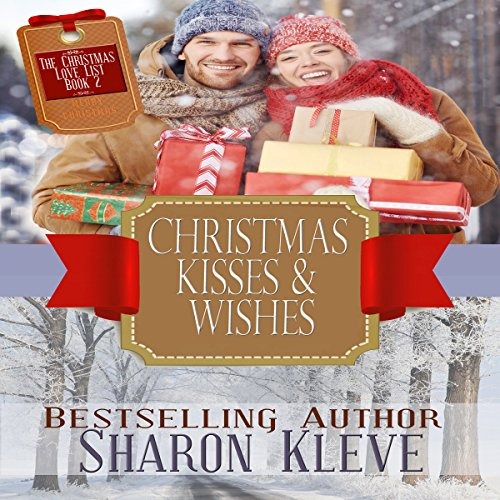 Christmas Kisses & Wishes audiobook cover art