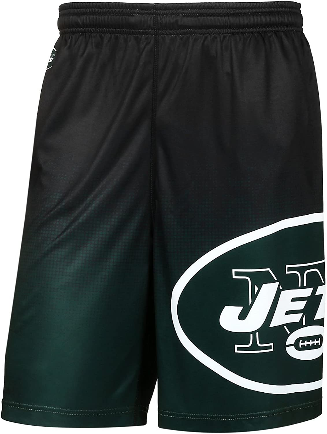 NFL New York Jets Men's 2016 Gradient Polyester Shorts, Medium, Green