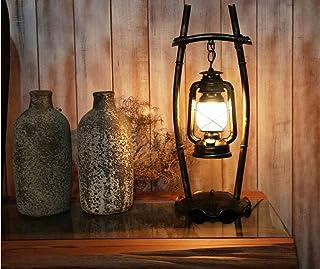 GH-YS Altmodische Schreibtischlampe, personalisierte Schlafzimmer-Studienrestaurant Vintage Eisen-Kerosin-Lampe, kreative ...