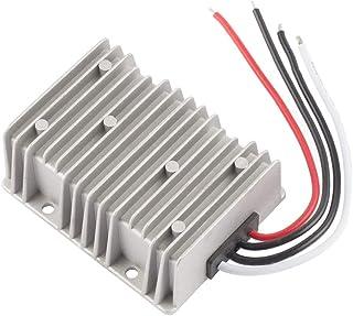 ZHITING Regulador del convertidor de Potencia de CC a Prueba de Agua, DC 24V a DC 12V 40A 480W Transformador Reductor para...