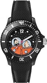 Ice tintin Womens Analog Quartz Watch with Silicone bracelet IC015314