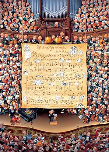 SiJOO Orquesta Personal notación 1000 Piezas Rompecabezas