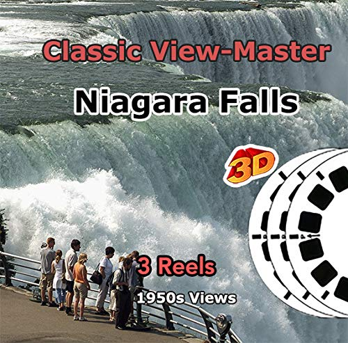 Niagara Falls,New York and Canada - 3 ViewMaster Classic Vintage 3D Reels