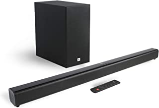 JBL Cinema SB261 2.1 Channel Soundbar with Wireless Subwoofer (220 Watts, Dolby Digital, Extra Deep Bass)