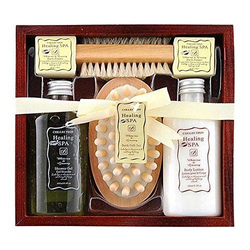 Gloss! - Cadeauset badset - Healing Spa - witte thee en Ginseng