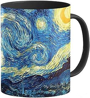 Van Gogh Taza La Noche Estrellada   Taza para Caf