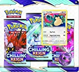Pokémon TCG: Sword & Shield—Chilling Reign Three-Booster Blister