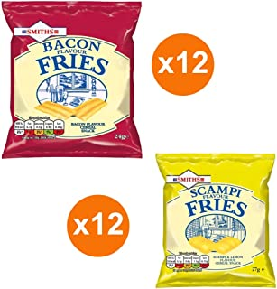 Smiths Bacon Fries + Smith Scampi Fries - A mouth Watering Taste from the UK.