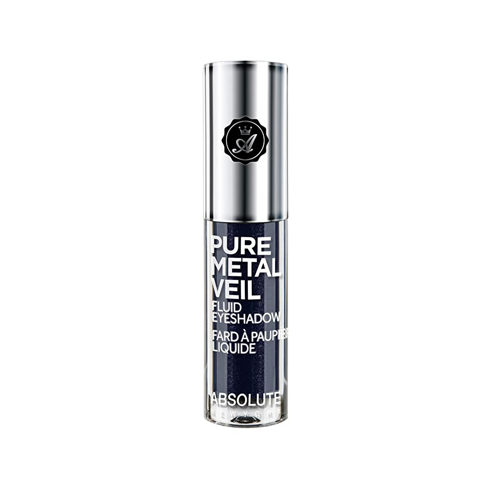 非武装化美徳君主制ABSOLUTE Pure Metal Veil Fluid Eyeshadow - Midnight Marine (並行輸入品)