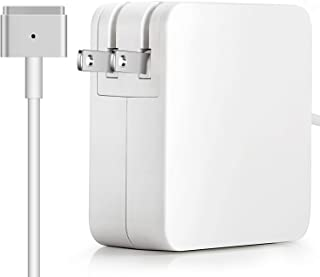 Mac Book Air Charger, Replacement 45w Magsafe 2 T-Tip Power Adapter Ac Charger Suitable for Mac Book Air 11/13 inch (After Late Mid 2012)
