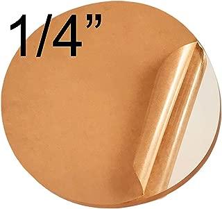 Acrylicblank Clear Acrylic Circle Disc (16 inch Diameter, 1/4