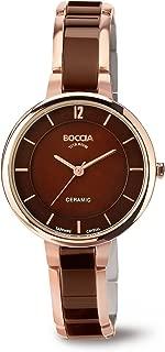 3236-04 Ladies Boccia Titanium Brown Watch