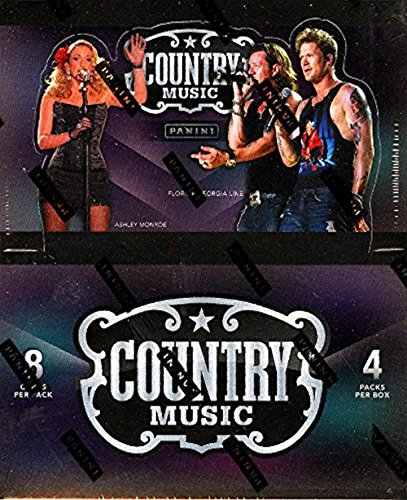 2014 Panini Country Music Hobby Box (4 PACKS/BOX, 8 CARDS/PACK, 4 autographs or memorabilia with at least 2 autos, 5 inserts, & 2 parallels per box) - In Stock!!