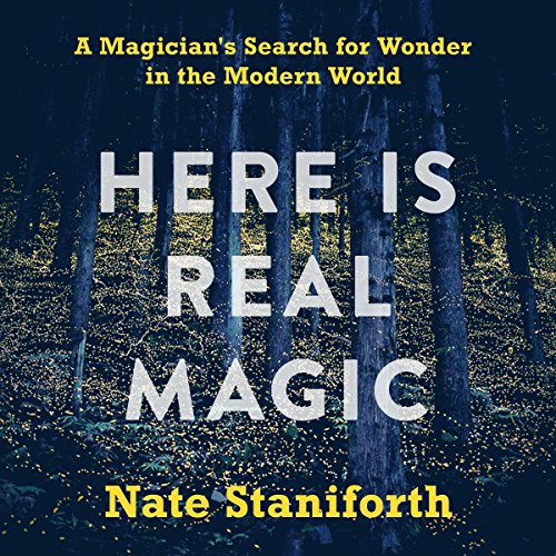 Here Is Real Magic audiobook cover art