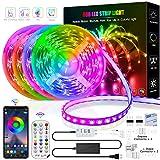 Led Strip Lights, 65.6 Feet/20m Led Light Strips Music sync Led Strips 5050...