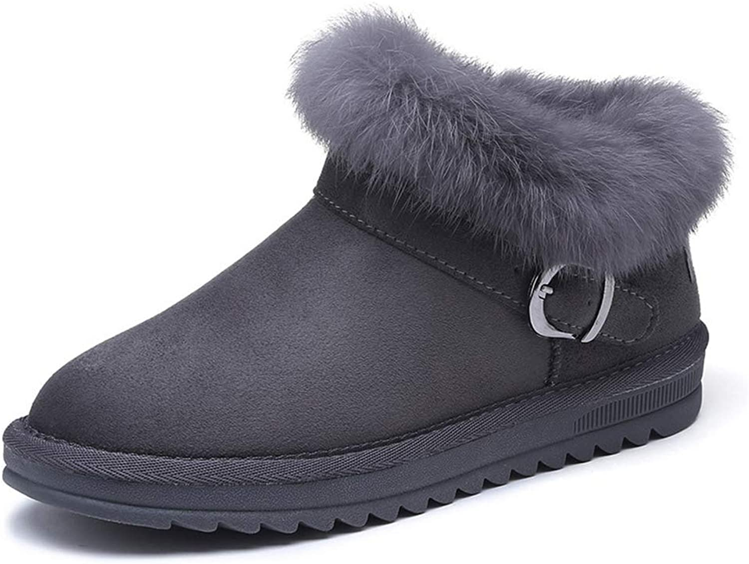 Excellent.c Winter Women's shoes Warm Boots Snow Boots Flat Boots