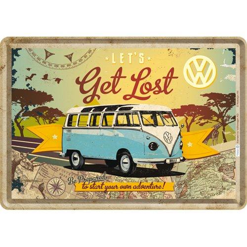 Nostalgic Art Blechpostkarte, Bunt, 10 x 14 x 0.1 cm