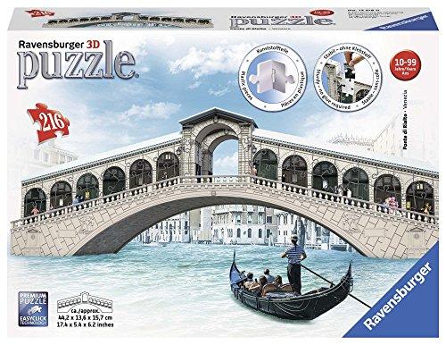 Ravensburger 12518 - Rialtobrücke - 3D Puzzle