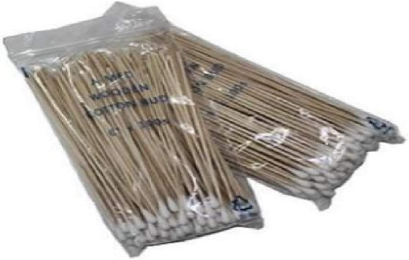 HHS Direct stock discount Long Handle Wood sold out Stick 1000PCS Make Cosmetics Swab Cotton