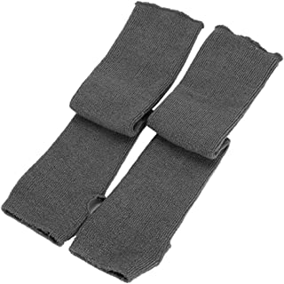 EnjoydealAU Women Knitted Arm Warmers Long Winter Warm Soft Fingerless Gloves Mittens Hand Warmer