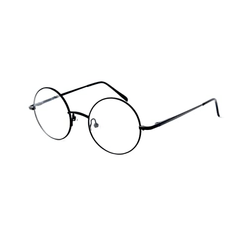 fc63187a08 Big Mo s Toys Wizard Glasses - Round Wire Costume Glasses Accessories for  Dress Up - 1