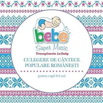 Transylvania Lullaby: Culegere De Cantece Populare Romanesti