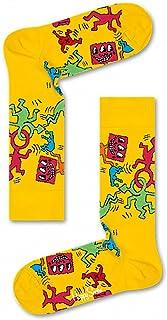 Happy Socks Men's Keith Haring All Over Sock