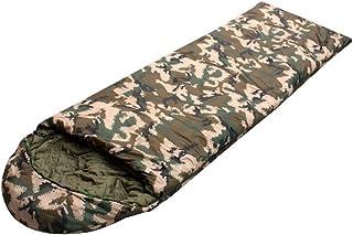 RFVBNM Desert digital camouflage sleeping bag single sleeping bag