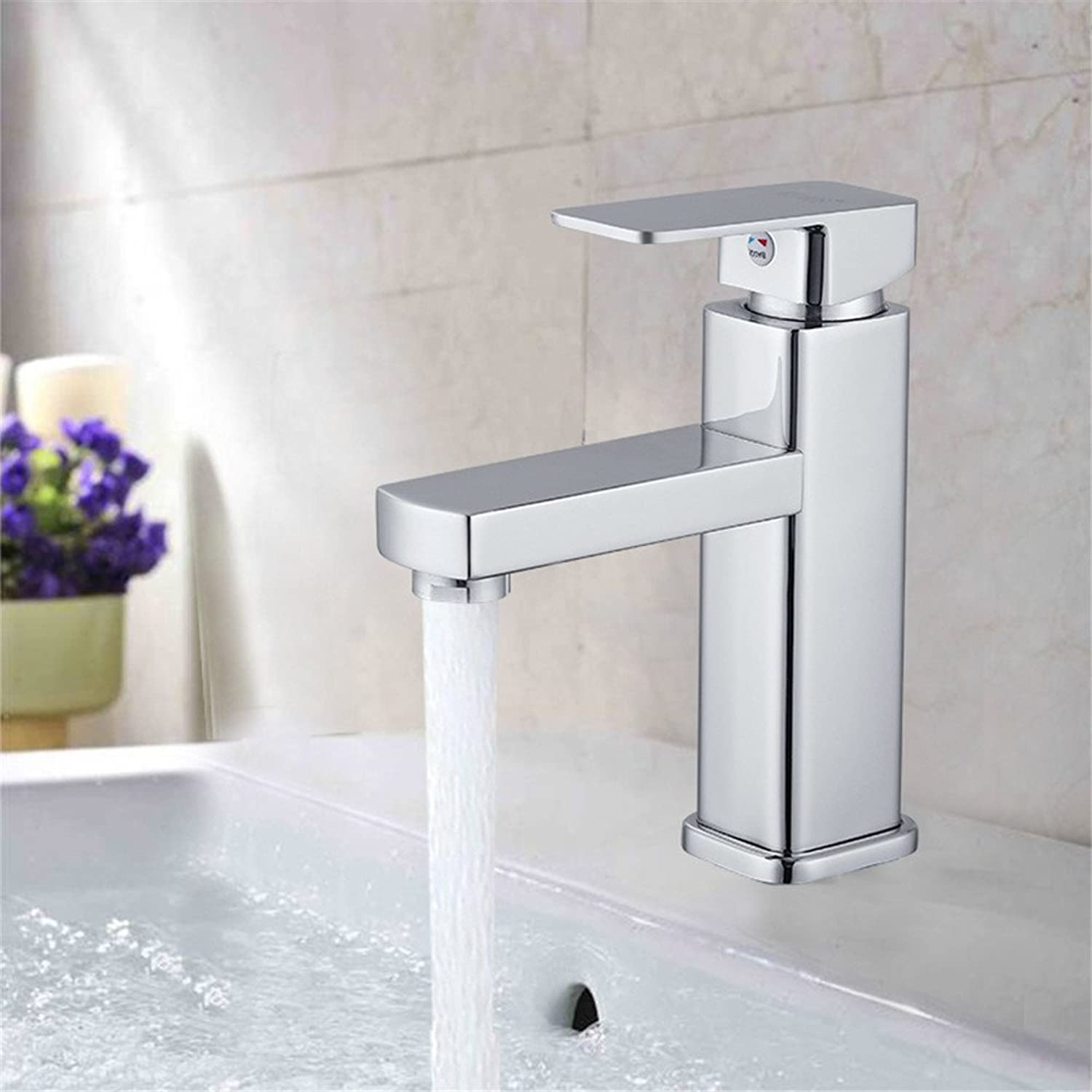 TYAW-SHOP The Kitchen single hole cold and hot water tap A wrench.