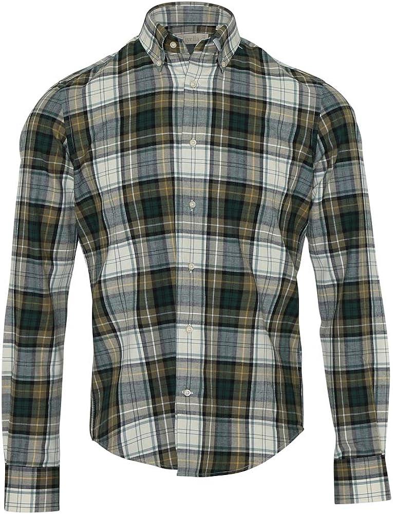 Viyella Mens Tartan Check Shirt Campbell Dress Ancient XXL