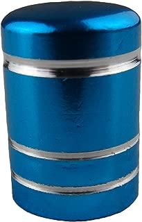 2 St/ück Alu Ventilkappen f/ür Motorrad Auto Roller Quad Fahrrad Rot Blau Gold Silber Schwarz Gr/ün Violett