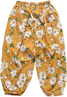 LOOLY Unisex Baby Girls Boys Casual Loose Beach Floral Pants
