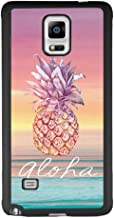 Samsung Galaxy Note 4 case Pineapple Sunset Full Body Case Cover Screen Protector Heavy Duty Protection case Shockproof case for Samsung Galaxy Note 4