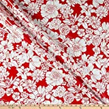 Oil Cloth International 0665454 Oilcloth Victoria Red