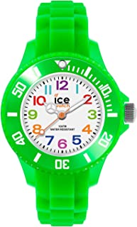 Ice-Watch - ICE mini Green - Boy's wristwatch with silicon strap - 000746 (Extra Small)