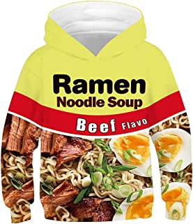 ramen noodle hoodie youth