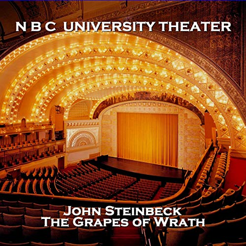 NBC University Theater: The Grapes of Wrath cover art