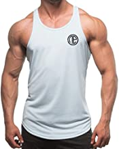 Men's Cotton String Tank Top Dri-Fit Bodybuilding Sleeveless Y-Back Muscle Vest