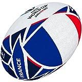 Gilbert Coupe du Monde de Rugby Japon 2019Boule de Drapeau de la France 5 Multicolore