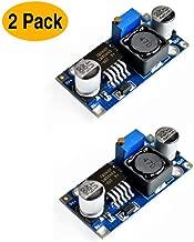 LM2596 Buck Converter DC to DC Buck Converter 3A 3.2V-40V to 1.25V-35V Power Supply Step Down Module (2 Pack)