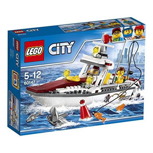 LEGO- City Great Vehicles Peschereccio, 60147