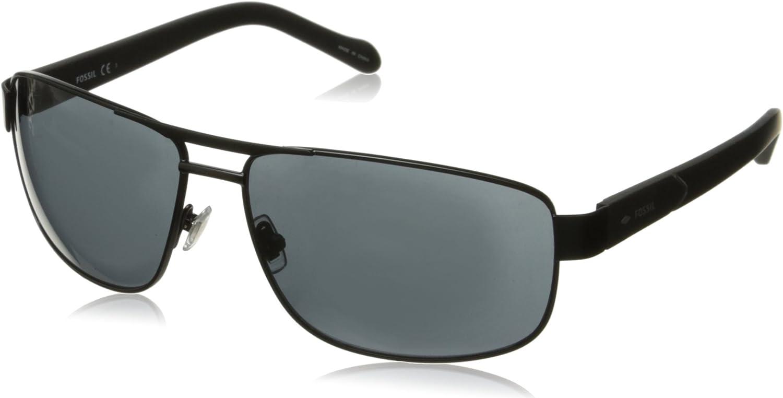 Fossil Men's Fos3060s Rectangular Sunglasses