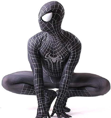 JUFENG Legends Spiderhomme Homecoming Costume Adulte Spiderhomme Costume Enfant Araignée Homme Masque Fête d'anniversaire Cosplay VêteHommests,A-Adult L