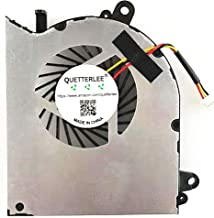 3 Pin 3 Wire P//N: PAAD06015SL-N039 PAAD06015SL-N303 PAAD06015SL-N285 DBParts New CPU GPU Cooling Fan for MSI GE62 GL62 GE72 GL72 GP62 GP72 PE60 PE70 Series