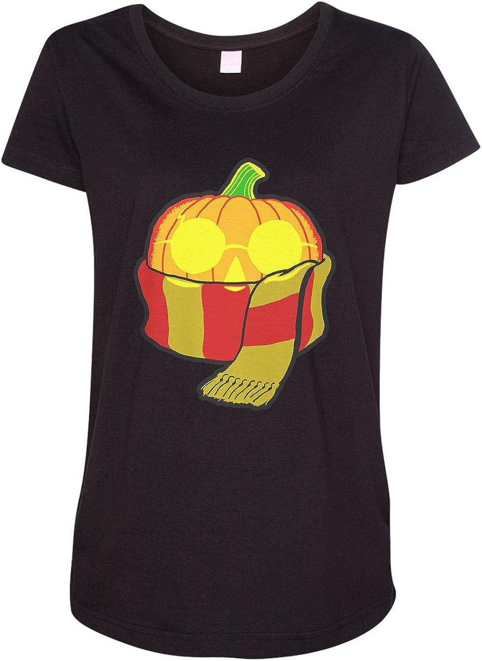 HARD EDGE DESIGN Women's Wizard Pumpkin T-Shirt